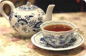 Запор чёрный чай
