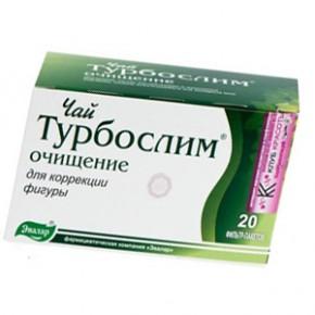 Чай Турбослим для похудения и очищения