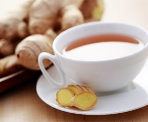 Лечебный чай с имбирем